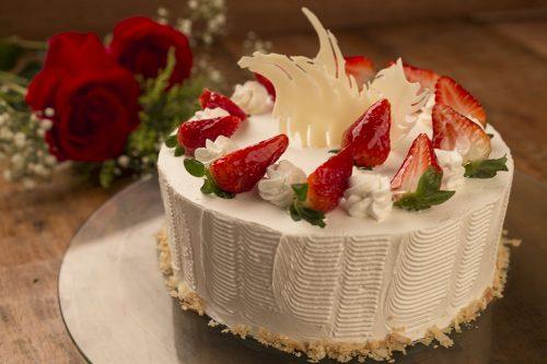 Torta Suprema De Morango