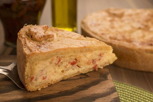 Torta De Tomate Seco Com Alho Poró – 100 G