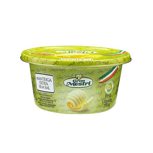 8308- Manteiga Gran Mestri Sem Sal 200g