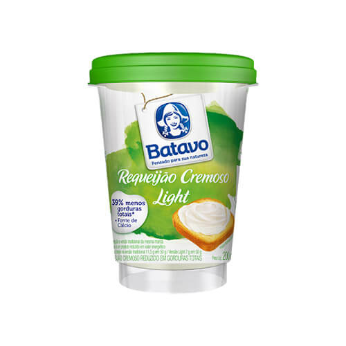 6923 – Requeijão Cremoso Light Batavo 200g