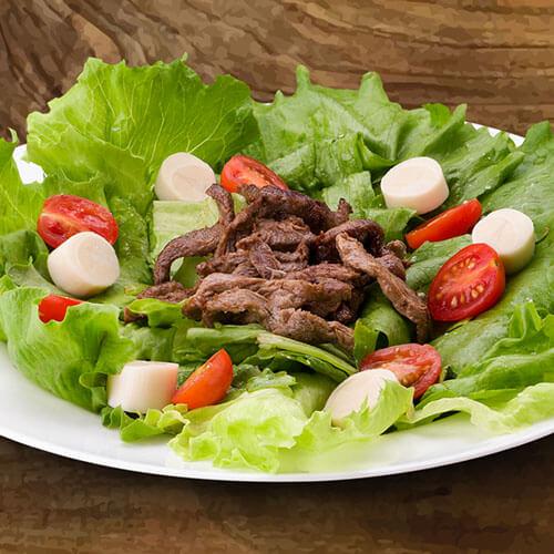 6617 – Salada Com Mignon Em Tiras