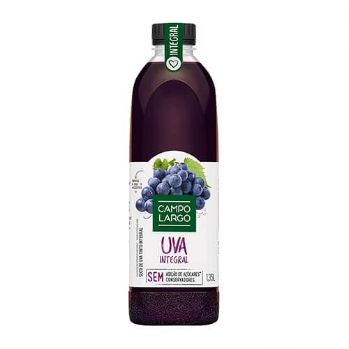 4920 – Suco De Uva Integral Campo Largo 900ml